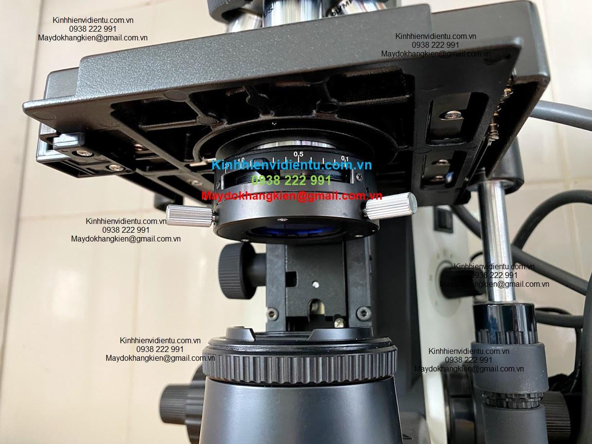 Lẫy kẹp lam không thể kẹp lại Sửa chữa kính hiển vi chuyên nghiệp